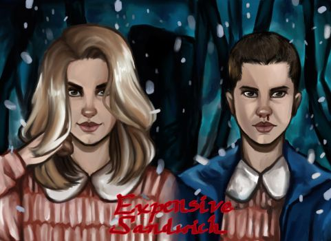 Stranger Things - Eleven by ExpensiveSandwich