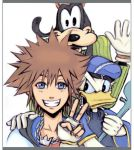 KH : Sora Goofy and Donald by Angy89