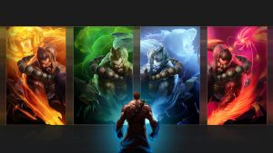 Spirit Guard Udyr Walpaper by PatWeiss