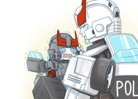 bluestreak and prowl 2 by XXX023