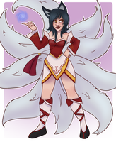 Ahri by Gamingal