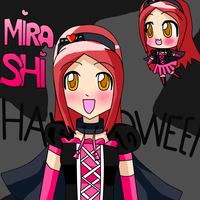 Mira Shi halloween by miracm4
