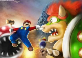 super mario unstoppable by extremist52