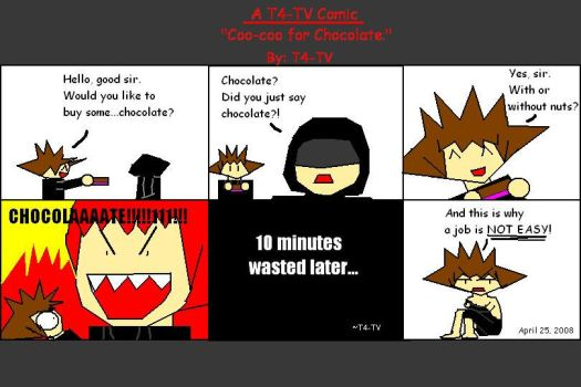 A T4-TV Comic 1 by T4-TV