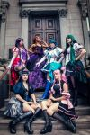 Sailor Moon - No Flutter cosplay group by the-mirror-melts