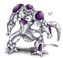 Freeza - 4th Form -100 percent by TimothyJamesF