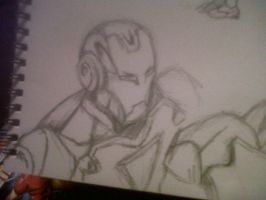 Iron Man Sketch 3 by TJGrey