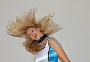 Ruby - hair flip Alice by memersonphotographic