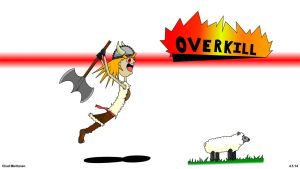 Overkill by bluefire4000