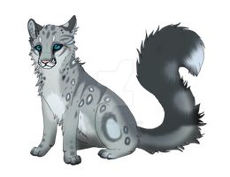 adoptable auction Snow Leopard cub by TaraviAdopts