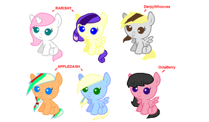 ~MLP~ Shipping Adopts by XxDrewpuff11xX