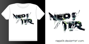 new nepster t-shirt design by nepst3r