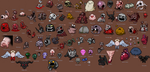 All Binding of Isaac Bosses by Scoutzi