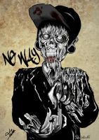 HxC Zombie '' NO WAY '' by TaliaJasta