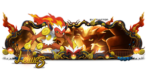 Sign - Infernape by Fuutton