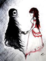 When Love and Death Meet by D-DCoffee
