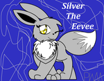 AT-Silver the Eevee by PokeWarriorMelodies