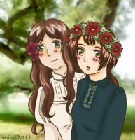 APH: Flower colors by Anila-chan