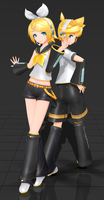 Imitation X Default Rin and Len [Download] by FlyingSpirits-P