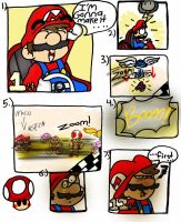 Mario Kart: I'm gonna win... by LizDraws