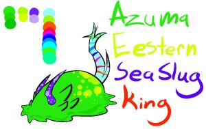 Eastern Sea Slug King by Skull-gum