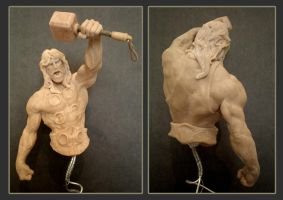 thor sculpt by Leadjunky