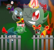 CE: Boo's Halloween Mansion by HelenaLevi
