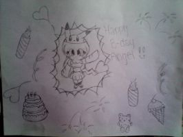 HAPPY BDAY AngelTheVampcat OwO by ShimmerTheVampfox