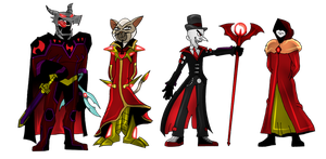 Ultima: revision Baddies by frame10