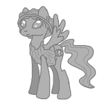 Weeping Angel Pony by Puddle-jumper3