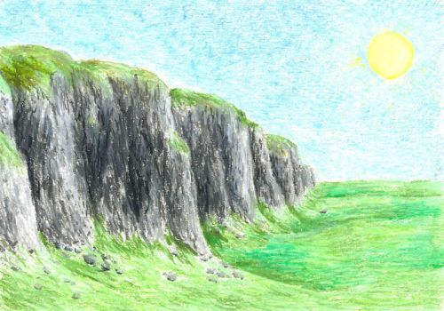 East Wall of Rohan by MatejCadil