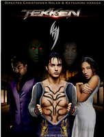 Tekken: Jin poster (movie) by Tony-Antwonio