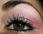 Pink Eye Makeup Closeup by temptalia