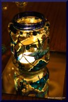 Feather Tail Candle Holder by Bonniemarie