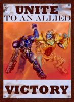 Starcraft Propagand Poster by Albino-Turnip