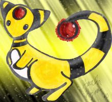 .:Chibi ampharos:. by Switchfoot101
