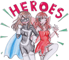 :AT: Super Heroes by MimiStars
