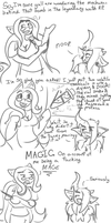 Sketchcomic - Technobabble by Ferret-X