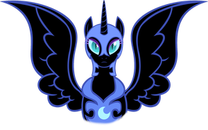 Nightmare Moon by DarkLight02