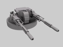 Type 5 Thanatos ship cannon by ulyses