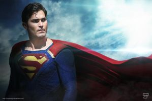 Tyler Hoechlin Superman by Bryanzap