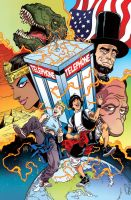 Bill and Ted's Most Triumphant Return # 1 Cover by FelipeSmith