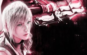 Lightning Farron in Pink by sakurazaki90