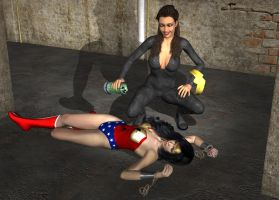 Perils of Wonder Woman: Formicida Returns! by Zamboniman