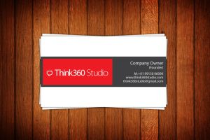 Think360 Studio - Logo - Vcard by princepal