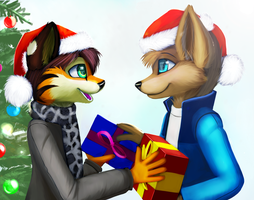 Presenting (Merry Christmas, Chmunk) by jamesfoxbr
