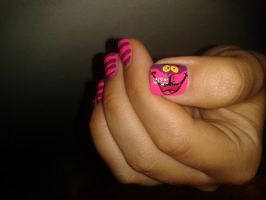 Cheshire Cat-nails by Kekale