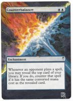 Magic Card Alteration: Counterbalance by Ondal-the-Fool