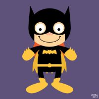 Almost Daily Characters: Batgirl by striffle
