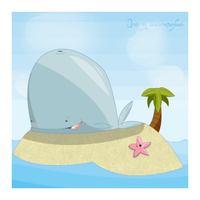 Irvin the land whale by Sinister-Starfeesh